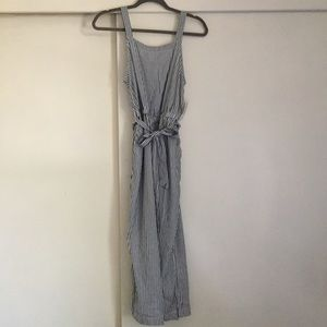 Old Navy Pants Striped Jumpsuit Poshmark